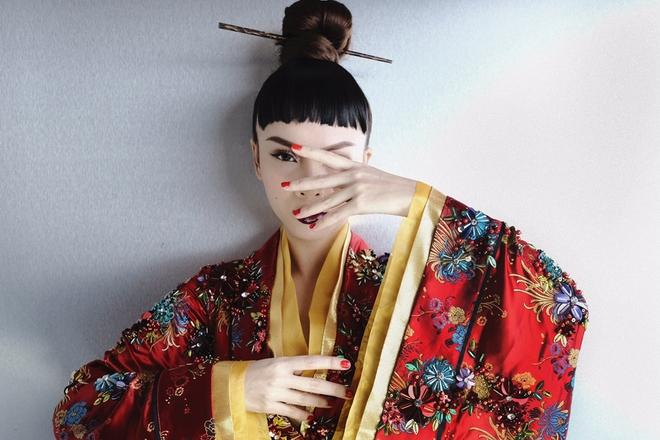 Hậu The Remix, Yến Trang hoá nàng Geisha ma mị trong MV mới - Ảnh 4.