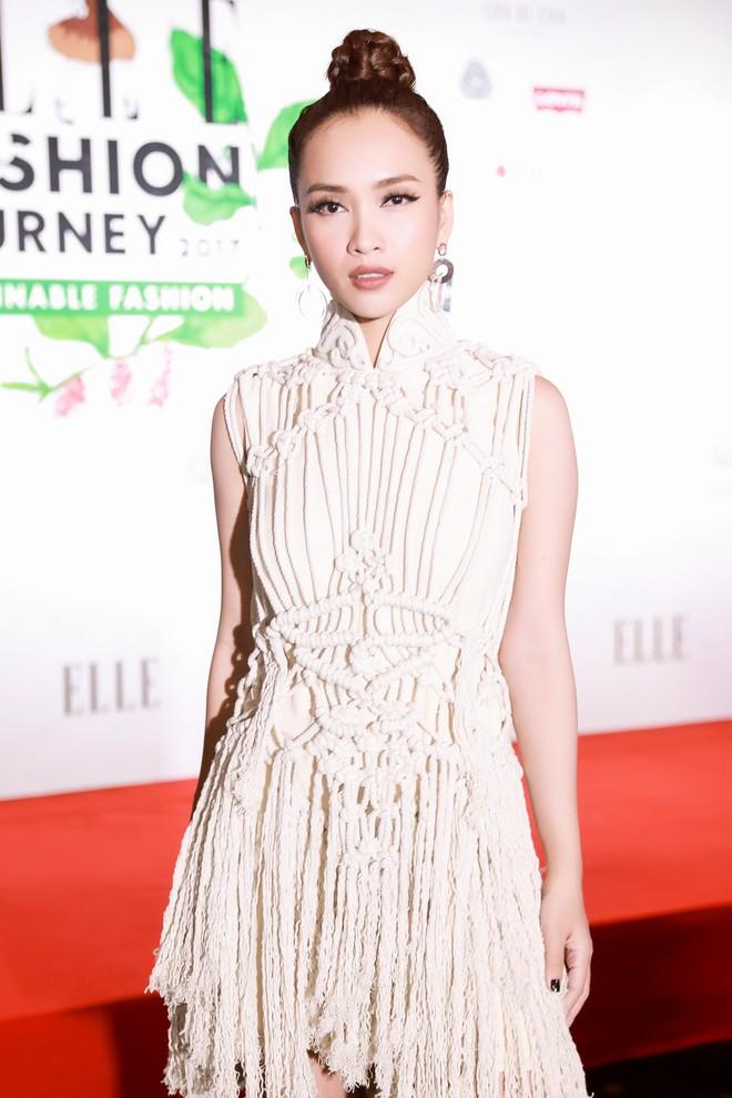 Quỳnh Anh Shyn lên đồ ấn tượng chẳng kém gì Phạm Hương, Minh Hằng trên thảm đỏ Elle Fashion Show - Ảnh 16.