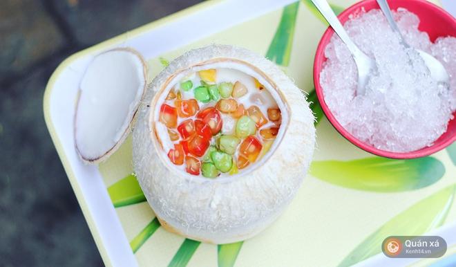 2 món ăn trong quả dừa đang cực hot ở Hà Nội bạn nhất định phải thử - Ảnh 11.