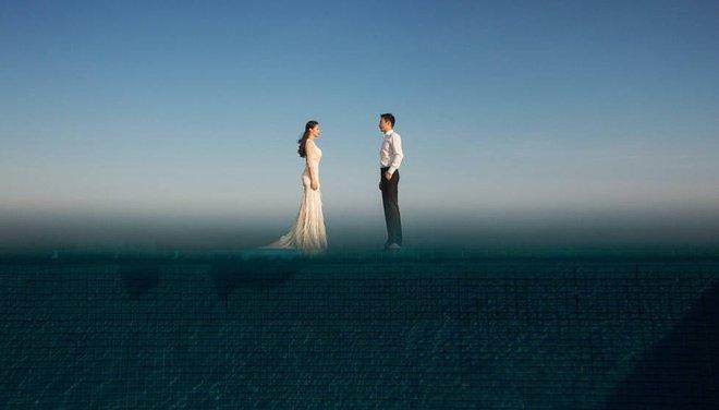 Bộ ảnh cưới tuyệt đẹp của nữ VĐV nhảy cầu xinh đẹp Trung Quốc - Ảnh 7.