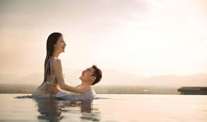Bộ ảnh cưới tuyệt đẹp của nữ VĐV nhảy cầu xinh đẹp Trung Quốc - Ảnh 8.