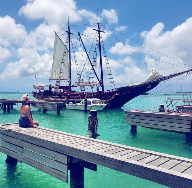 Nóng như thế này chỉ muốn đến ngay thiên đường Aruba tắm biển, thỏa thích chụp ảnh sống ảo cùng hồng hạc mà thôi! - Ảnh 24.