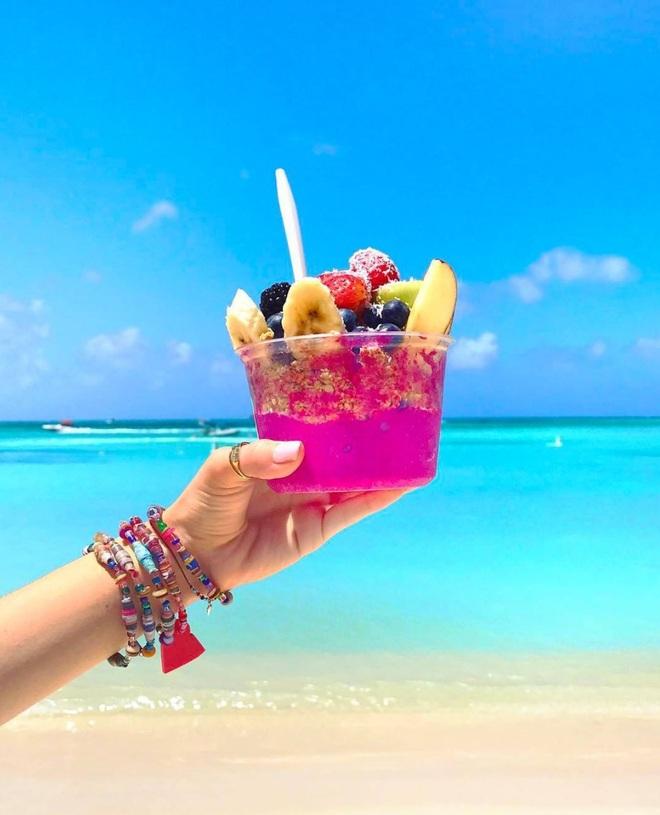 Nóng như thế này chỉ muốn đến ngay thiên đường Aruba tắm biển, thỏa thích chụp ảnh sống ảo cùng hồng hạc mà thôi! - Ảnh 3.