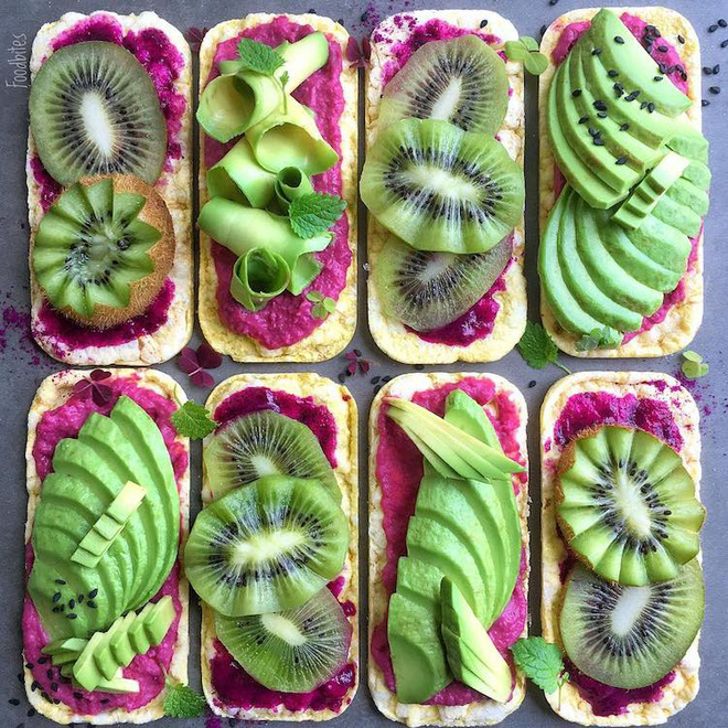Các bức tranh rực rỡ được vẽ nên từ các loại hoa quả khác nhau - Ảnh 13.