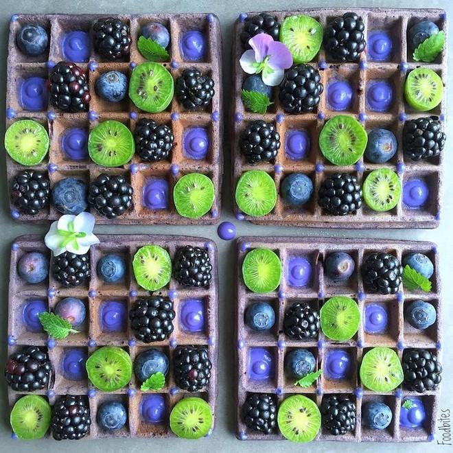 Các bức tranh rực rỡ được vẽ nên từ các loại hoa quả khác nhau - Ảnh 15.