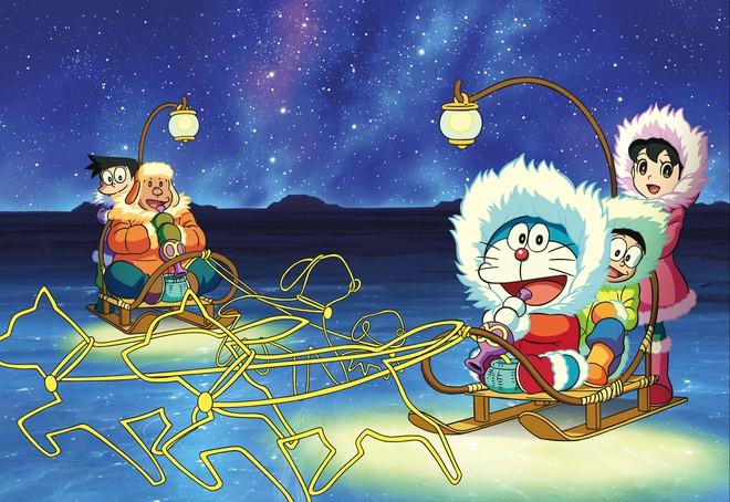Hè này nhất định cùng Doraemon đi trốn nóng đến tận Nam Cực Kachi Kochi! - Ảnh 1.