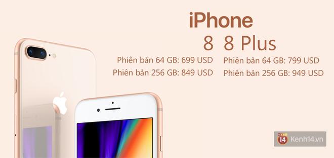 iPhone 8, 8 Plus và iPhone X bao giờ mua được, giá tiền bao nhiêu? - Ảnh 2.
