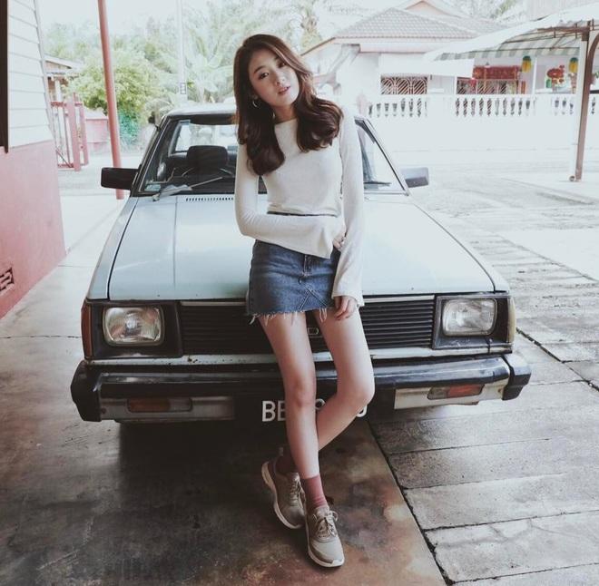 Không chỉ gái Việt nha, thêm một cô nàng Malaysia cực xinh chứng minh mặt tròn đang thực sự lên ngôi! - Ảnh 9.