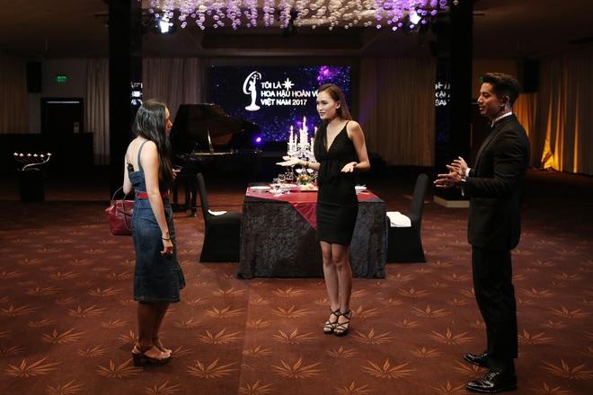 Thí sinh Hoa hậu Hoàn vũ VN khoe vẻ đẹp thuần khiết trong đồng phục trắng - Ảnh 9.