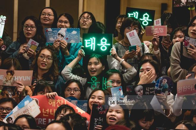 Mỹ nam Taeyong tiết lộ muốn ở lại Việt Nam, NCT 127 đồng loạt tỏ tình Anh yêu em với fan tại họp báo ở Hà Nội - Ảnh 28.