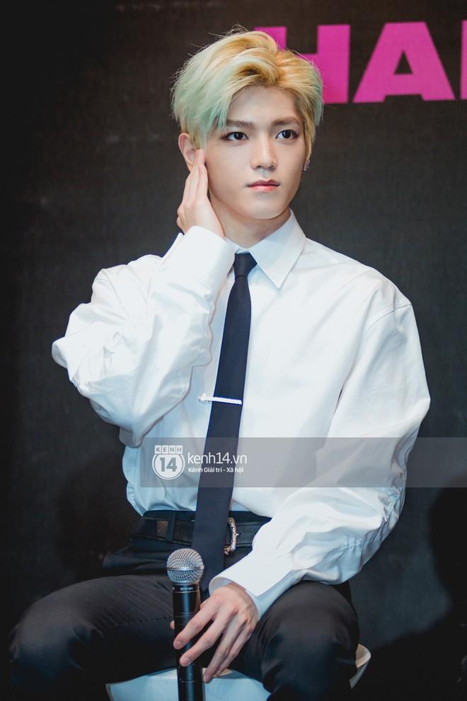 Mỹ nam Taeyong tiết lộ muốn ở lại Việt Nam, NCT 127 đồng loạt tỏ tình Anh yêu em với fan tại họp báo ở Hà Nội - Ảnh 5.