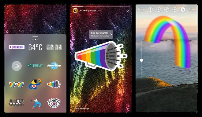 Instagram vừa ra mắt loạt sticker cực cool dành riêng cho cộng đồng LGBT - Ảnh 2.
