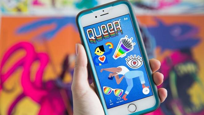 Instagram vừa ra mắt loạt sticker cực cool dành riêng cho cộng đồng LGBT - Ảnh 1.