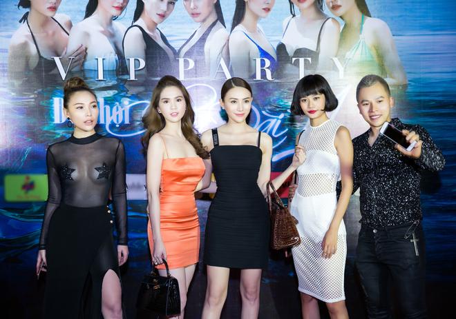 Ngọc Trinh ngọt ngào, Quỳnh Thư bốc lửa hội ngộ dàn sao tại tiệc VIP - Ảnh 7.
