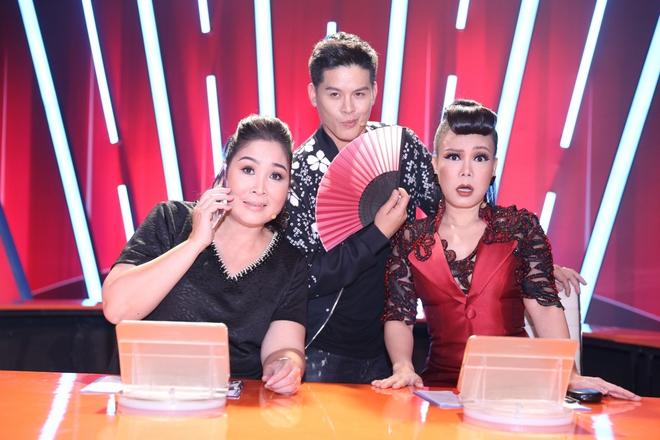 Trấn Thành chọc ghẹo chuyện tình cảm của Lâm Vinh Hải trên sóng truyền hình - ảnh 1