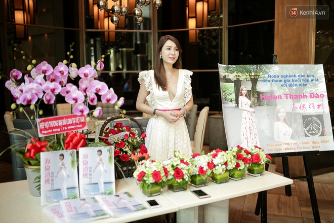 Họp báo tại Việt Nam: Helen Thanh Đào kể về cuộc sống cùng cực tại Đài Loan sau khi ly dị chồng già - Ảnh 2.