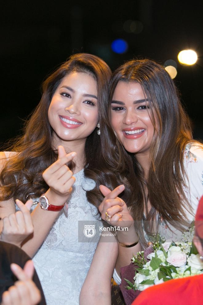 Hai năm gặp lại, Phạm Hương và bạn thân Hoa hậu người Dominica, ai đẹp hơn? - ảnh 5