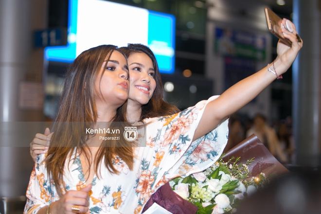 Hai năm gặp lại, Phạm Hương và bạn thân Hoa hậu người Dominica, ai đẹp hơn? - ảnh 9