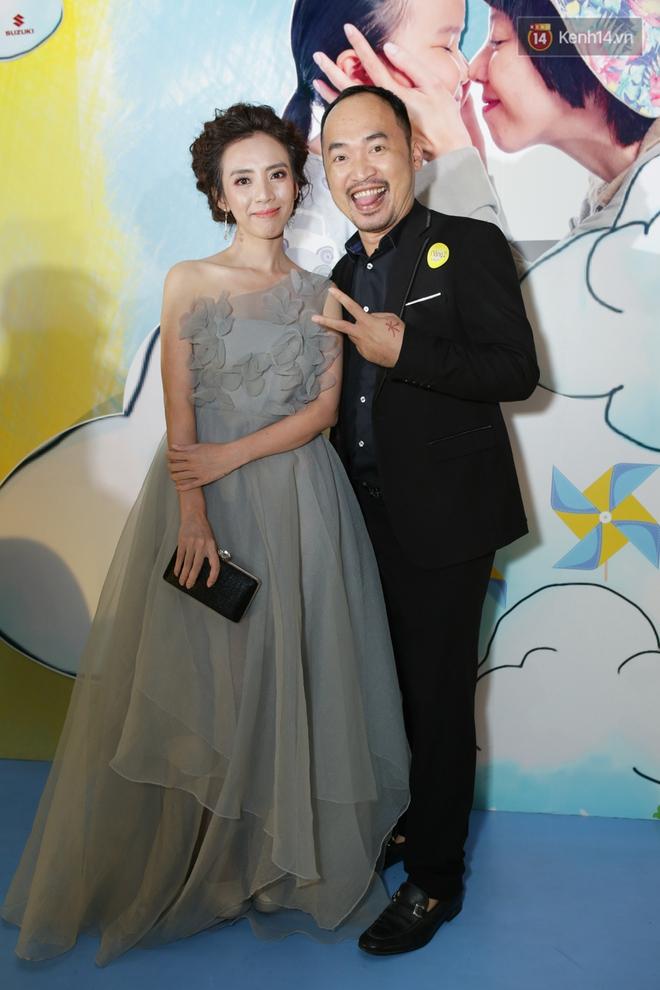 Miu Lê diện trang phục vàng chóe như tên phim, nổi bật trên thảm đỏ  - Ảnh 6.