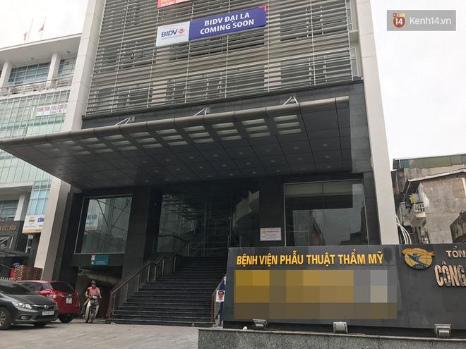 Thanh tra Sở Y tế Hà Nội vào cuộc vụ khách nữ đau đớn vì bị tụ máu sau phẫu thuật nâng ngực - Ảnh 2.