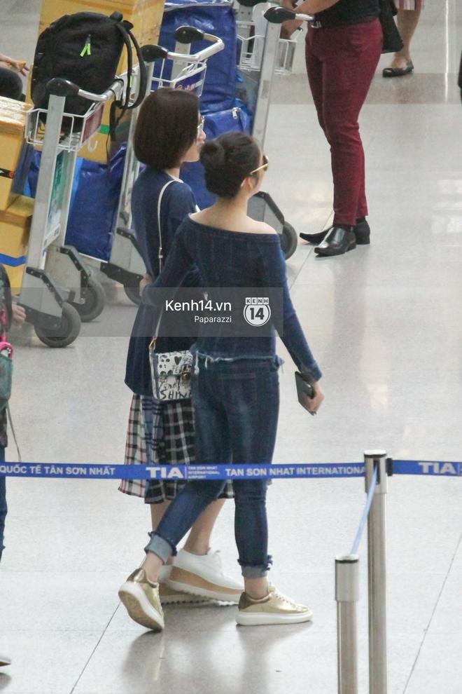 Lý Nhã Kỳ ra tận sân bay tiễn, Xa Thi Mạn thân thiện vẫy tay chào fan Việt - Ảnh 12.