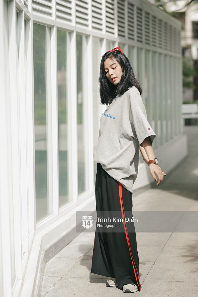 Sinh năm 1999, cao 1m70 - Cô bạn này đang là mẫu lookbook cực hot ở Sài Gòn - Ảnh 12.
