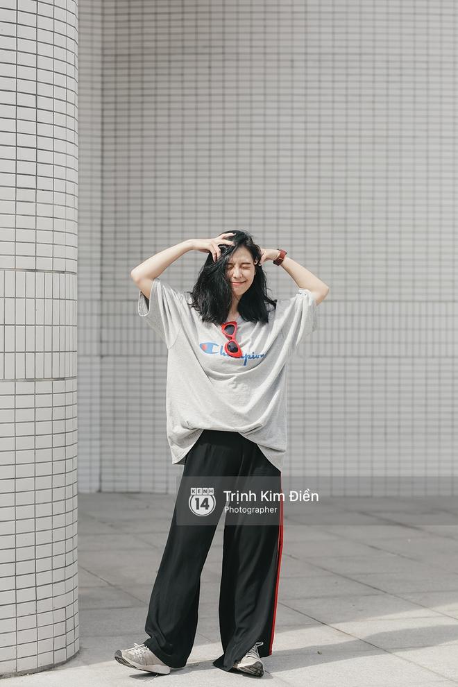 Sinh năm 1999, cao 1m70 - Cô bạn này đang là mẫu lookbook cực hot ở Sài Gòn - Ảnh 13.