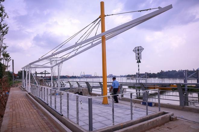 Cận cảnh bến buýt đường sông đầu tiên ở Sài Gòn sẽ hạ thủy vào tháng 9 - ảnh 5