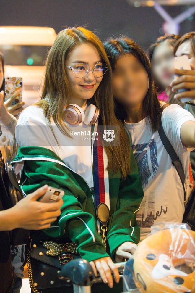 Diện đồ thể thao khoẻ khoắn, Minh Hằng nổi bật giữa sân bay lên đường đi Dubai tham dự tuần lễ thời trang quốc tế - ảnh 8