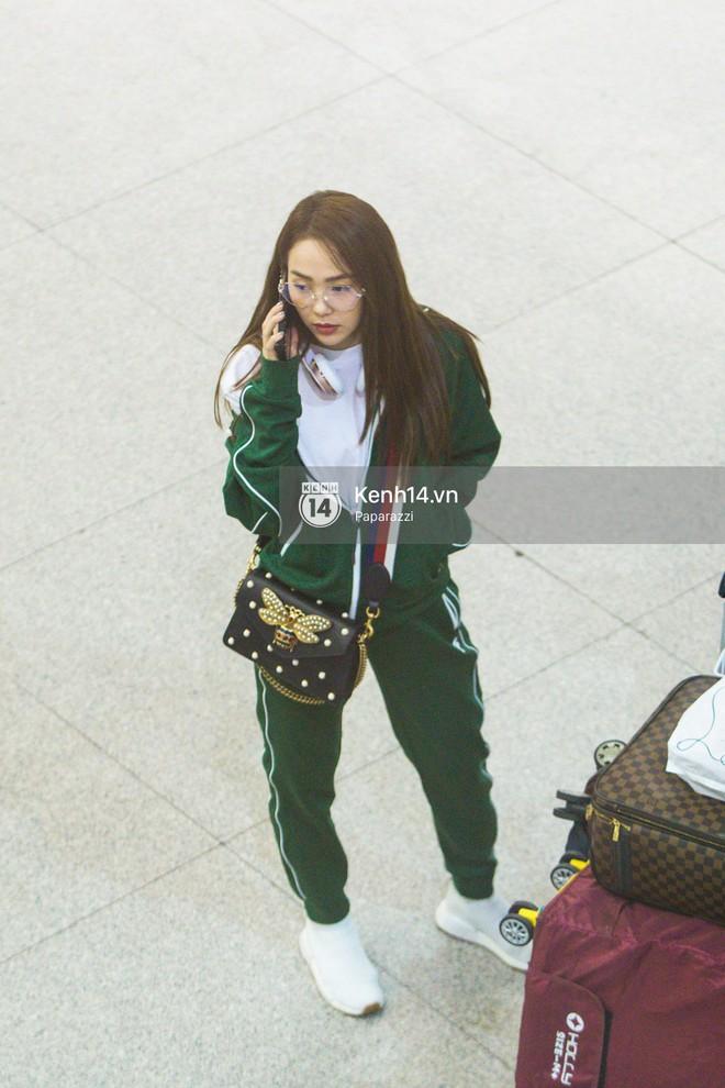 Diện đồ thể thao khoẻ khoắn, Minh Hằng nổi bật giữa sân bay lên đường đi Dubai tham dự tuần lễ thời trang quốc tế - ảnh 14