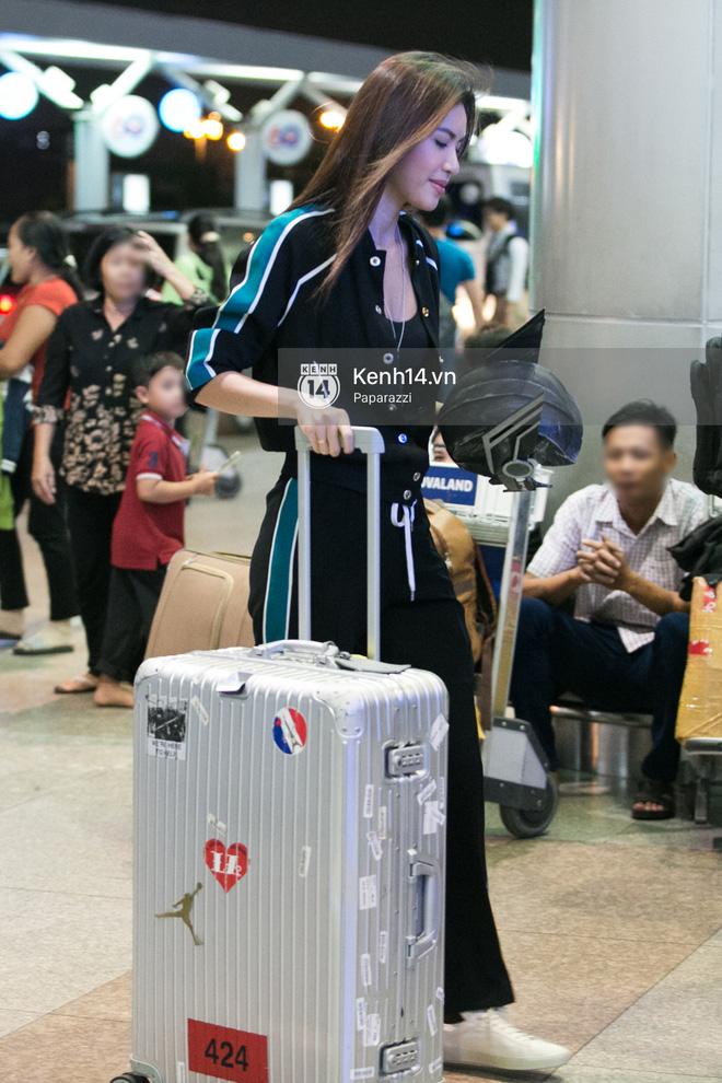Minh Tú diện trang phục giản dị lên đường sang Úc gặp Thor Chris Hemsworth - ảnh 6