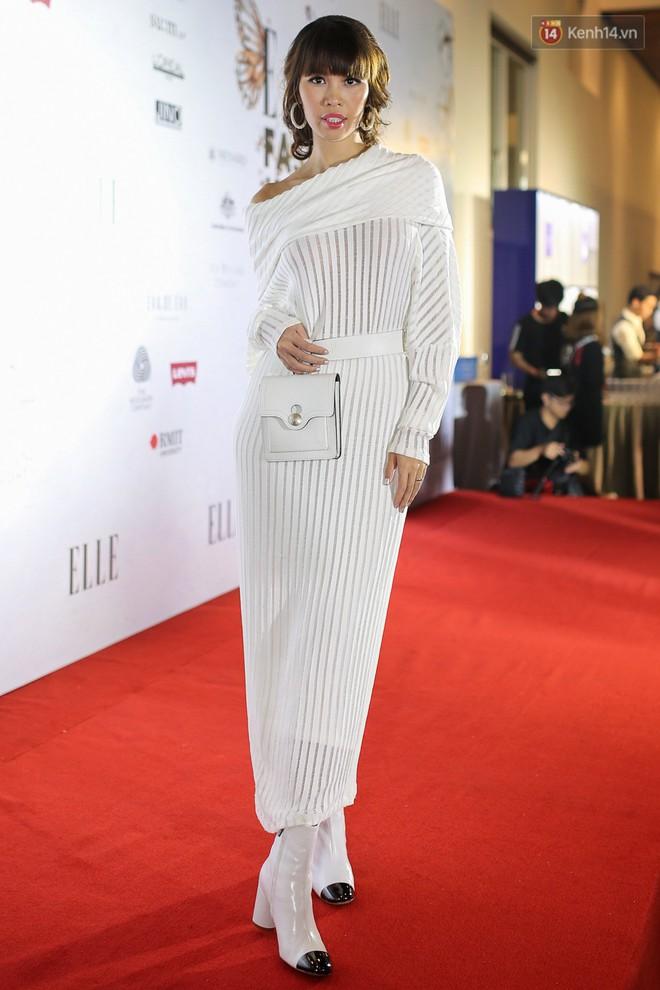 Quỳnh Anh Shyn lên đồ ấn tượng chẳng kém gì Phạm Hương, Minh Hằng trên thảm đỏ Elle Fashion Show - Ảnh 12.
