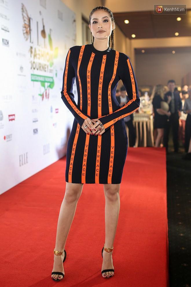 Quỳnh Anh Shyn lên đồ ấn tượng chẳng kém gì Phạm Hương, Minh Hằng trên thảm đỏ Elle Fashion Show - Ảnh 3.