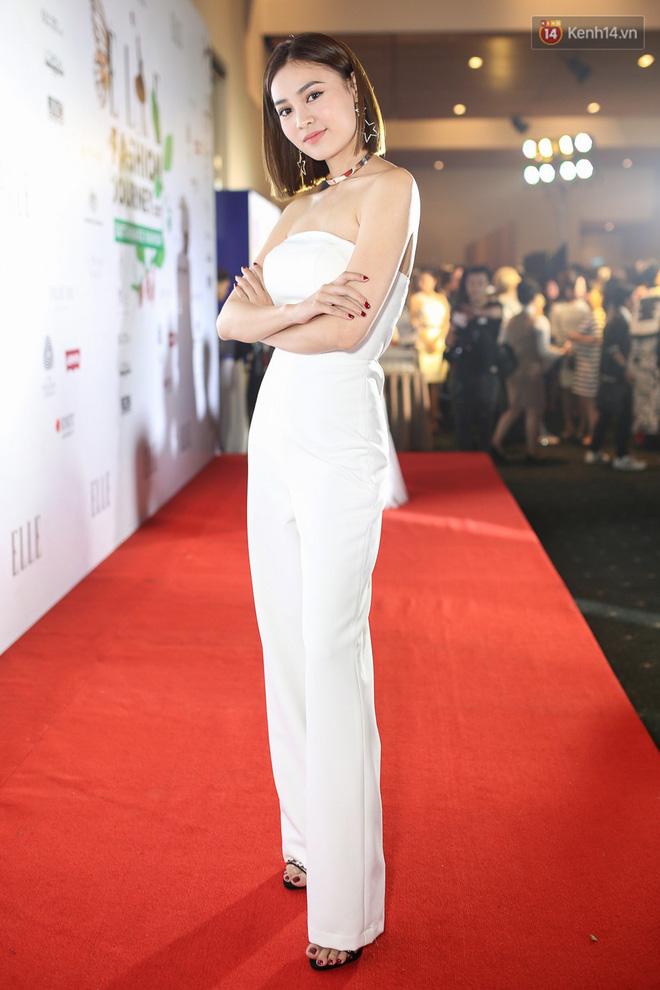 Quỳnh Anh Shyn lên đồ ấn tượng chẳng kém gì Phạm Hương, Minh Hằng trên thảm đỏ Elle Fashion Show - Ảnh 14.