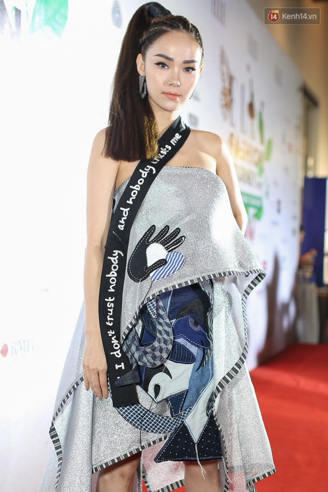 Quỳnh Anh Shyn lên đồ ấn tượng chẳng kém gì Phạm Hương, Minh Hằng trên thảm đỏ Elle Fashion Show - Ảnh 6.