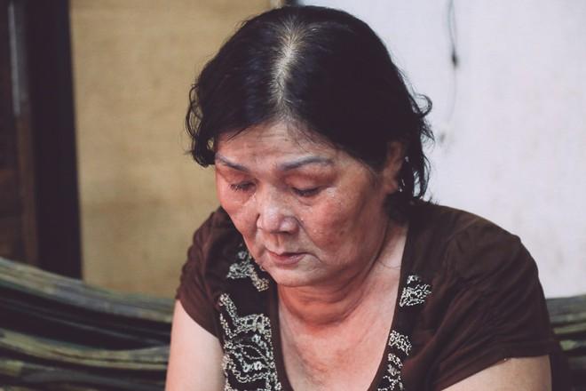 Bà Vũ Thị Thi, mẹ của tử tù Vũ Văn Tiến.
