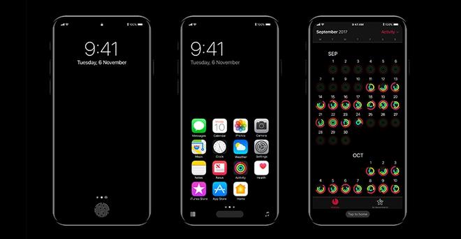 Ngắm nhìn giao diện iPhone 8 cực mới khiến vạn người mê - Ảnh 3.