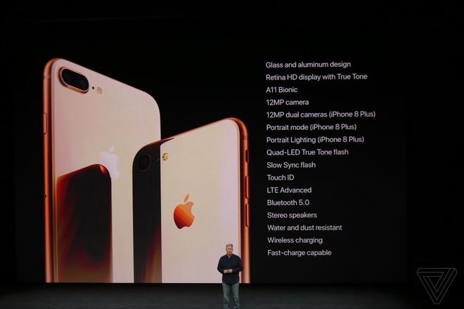 TRỰC TIẾP: Bom tấn iPhone X vừa được Apple giới thiệu với thiết kế không có gì bất ngờ - Ảnh 30.
