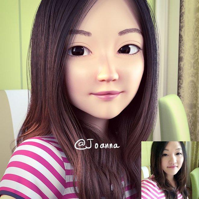 Họa sĩ gốc Việt biến ảnh chụp thành tranh 3D đẹp như hoạt hình Pixar - Ảnh 5.