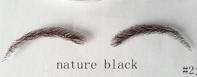 Hết tóc giả, lông mi giả, giờ có hẳn lông mày giả cho các nàng make up siêu nhanh siêu dễ - Ảnh 3.