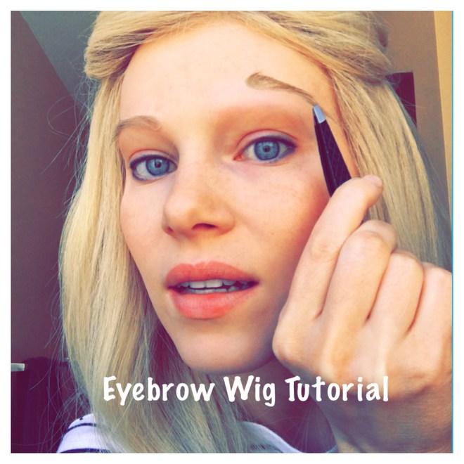 Hết tóc giả, lông mi giả, giờ có hẳn lông mày giả cho các nàng make up siêu nhanh siêu dễ - Ảnh 4.