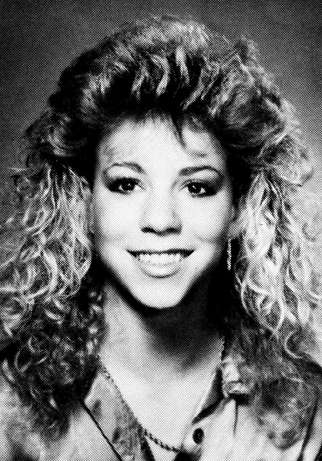 Gương mặt Mariah Carey không quá khác so với bây giờ
