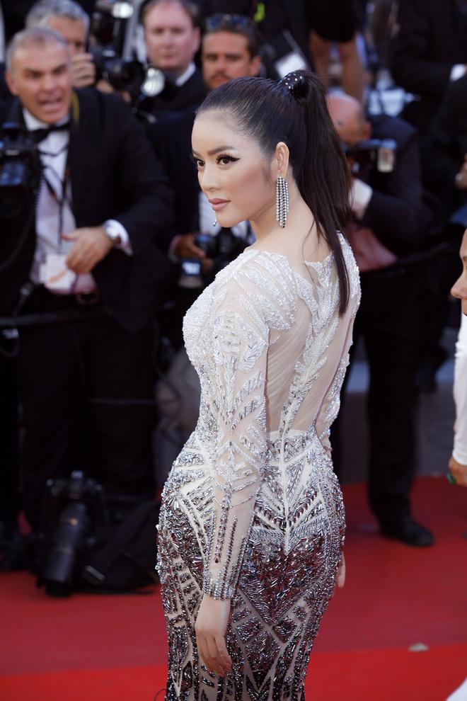Lý Nhã Kỳ lột xác, hoá Nữ hoàng Cleopatra trên thảm đỏ LHP Cannes ngày 4 - Ảnh 11.