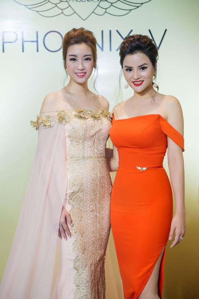 Hoa hậu Mỹ Linh đẹp kiêu sa, đọ sắc bên đàn chị Vũ Thu Phương - Ảnh 5.