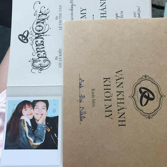 Sau thiệp mời, ngày cưới của Kelvin Khánh và Khởi My cũng chính thức được hé lộ! - Ảnh 3.