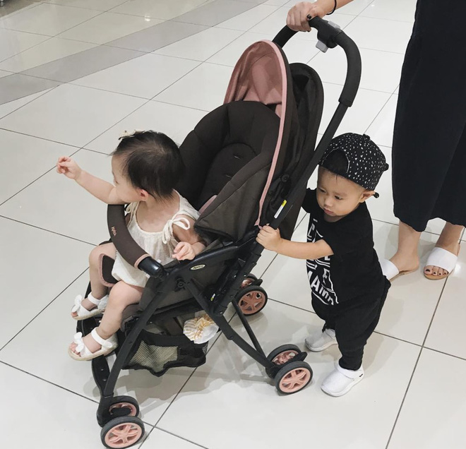 Còn gì dễ thương bằng khoảnh khắc 3 cặp ông bố - bà mẹ bỉm sữa nổi tiếng nhất MXH gặp nhau! - Ảnh 12.