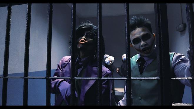 PB Nation hoá thân thành Joker quậy phá trong MV thực hiện tại Hong Kong