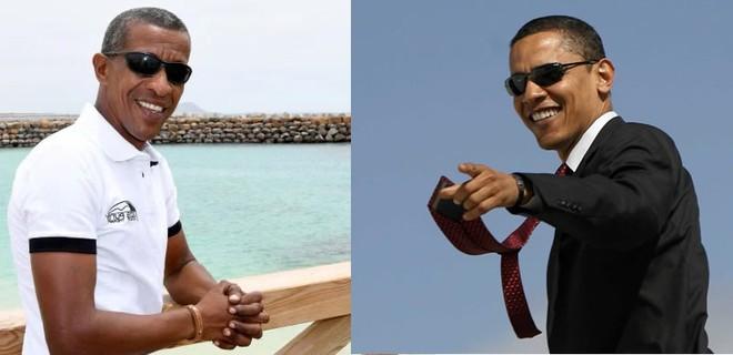 Ông bố 5 con giống hệt Obama - ảnh 2