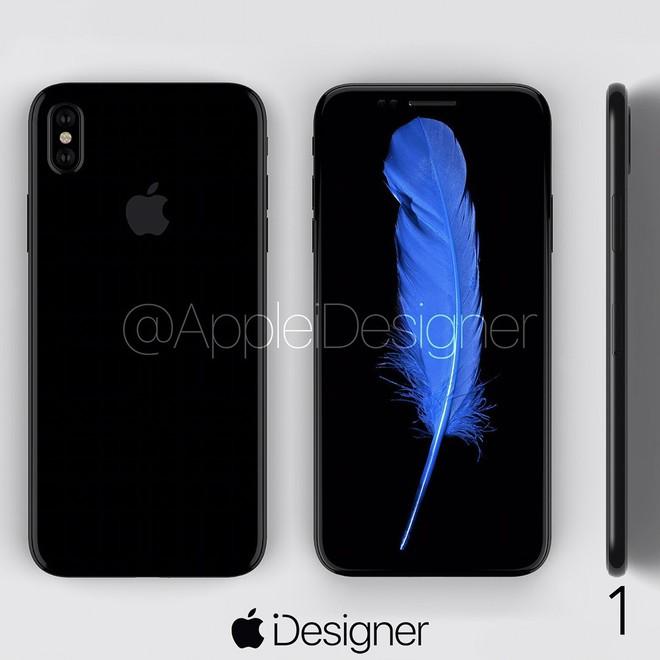 Đừng để những hình ảnh rò rỉ xấu xí làm bạn sợ, iPhone 8 sẽ đẹp tới mức này cơ mà - Ảnh 2.