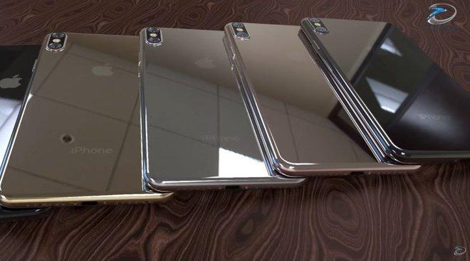 Cận cảnh iPhone 8 với vẻ ngoài sang chảnh khó có thể cưỡng lại
